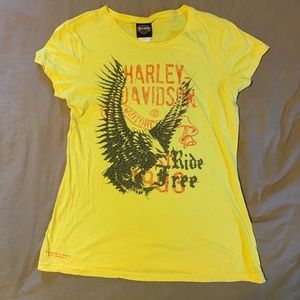 Harley Davidson crew neck tee.